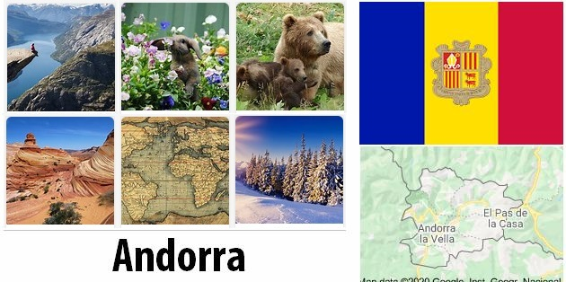 Geography and climate of Andorra