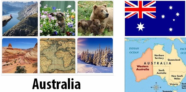 Geography and climate of Australia