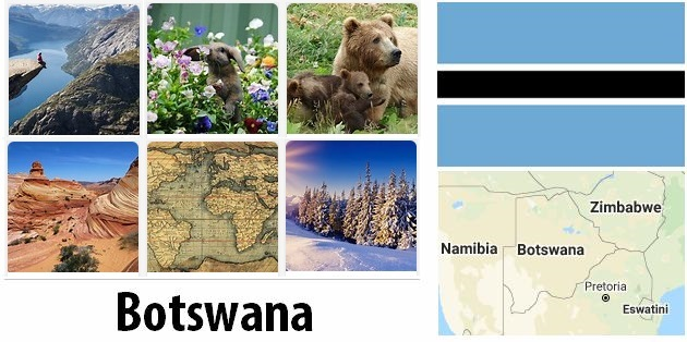 Geography and climate of Botswana