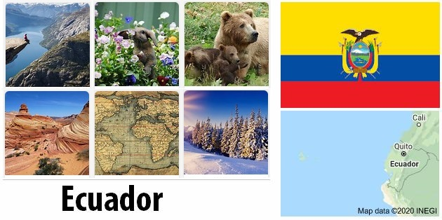 Geography and climate of Ecuador