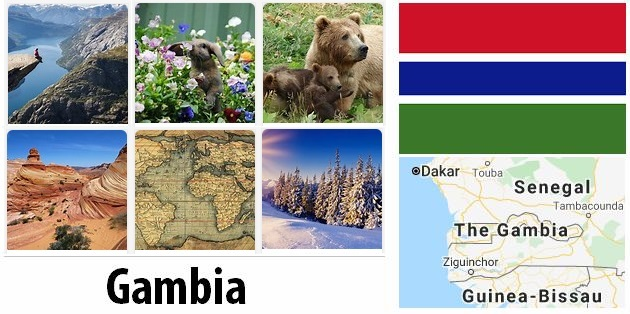 Geography and climate of Gambia