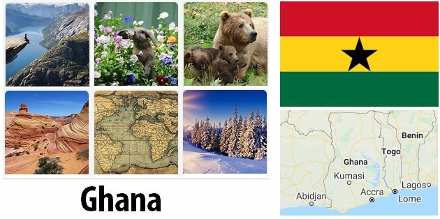 Geography and climate of Ghana