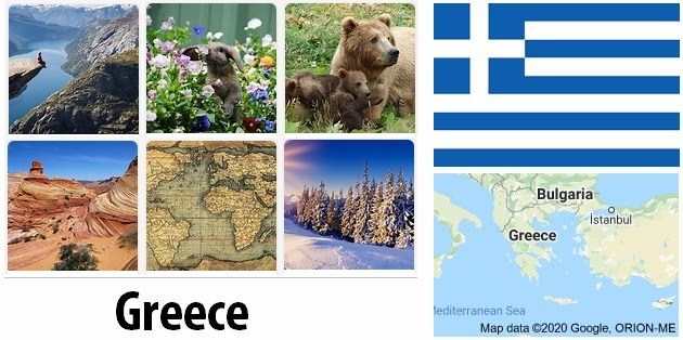 Geography and climate of Greece
