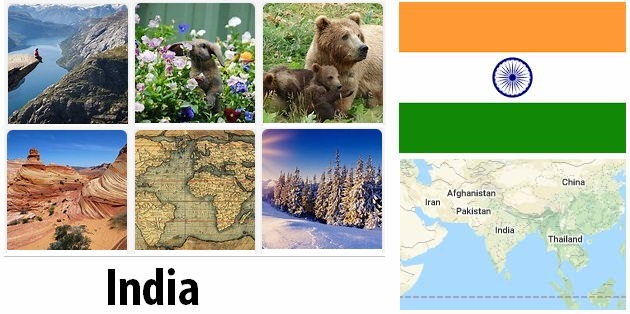 Geography and climate of India