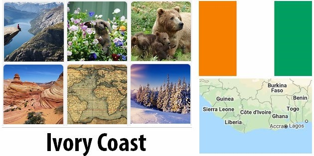 Geography and climate of Ivory Coast