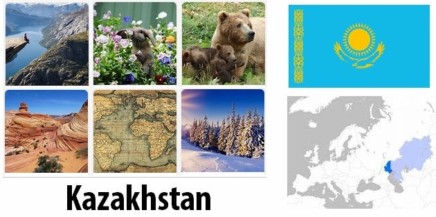 Geography and climate of Kazakhstan