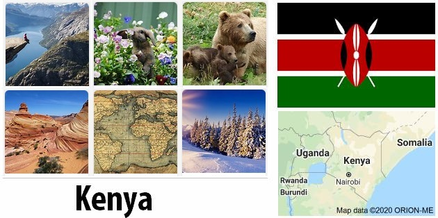 Geography and climate of Kenya