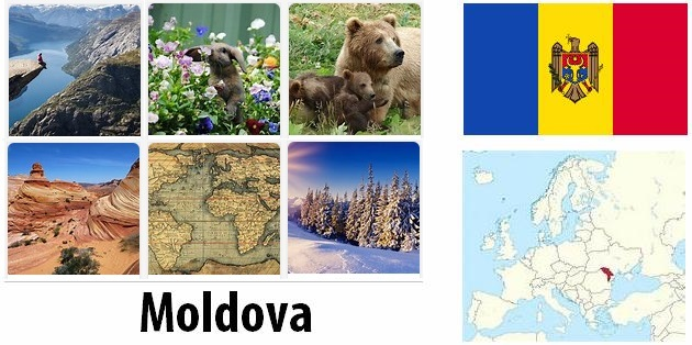 Geography and climate of Moldova