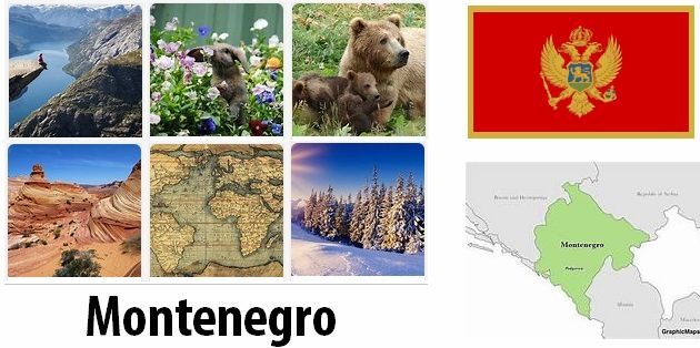 Geography and climate of Montenegro