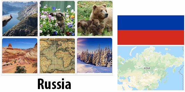 Geography and climate of Russia