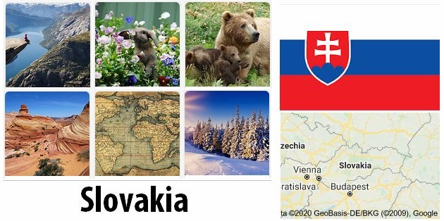 Geography and climate of Slovakia