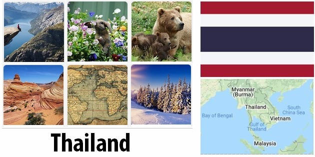 Geography and climate of Thailand