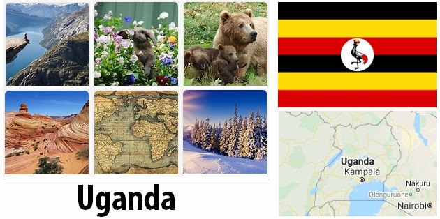 Geography and climate of Uganda