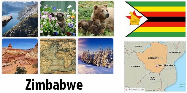 Geography and climate of Zimbabwe