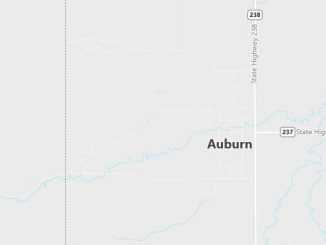 Map of Auburn, WY