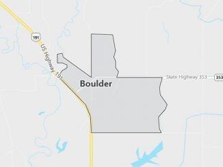 Map of Boulder, WY