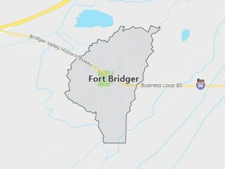 Map of Fort Bridger, WY