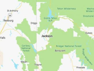 Map of Jackson, WY