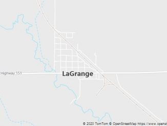 Map of Lagrange, WY
