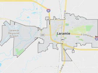 Map of Laramie, WY