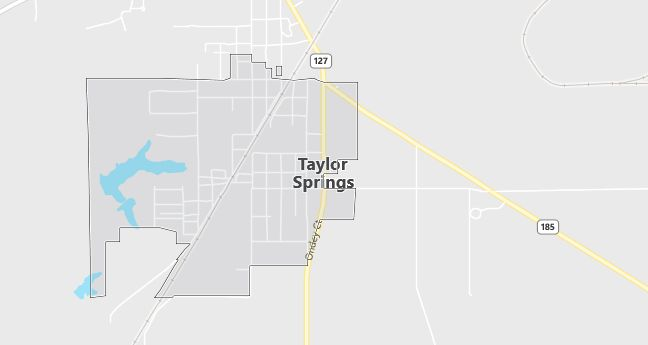 Map of Taylor Springs, IL