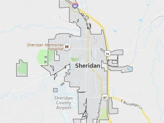 Map of Sheridan, WY