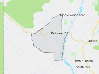 Map of Wilson, WY