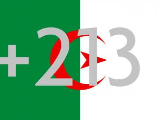 Algeria Area Code