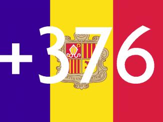 Andorra Area Code