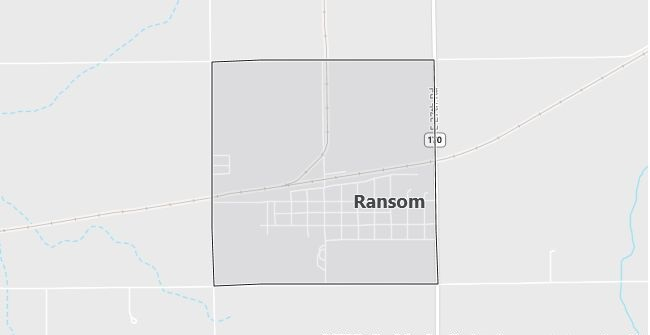 Map of Ransom, IL