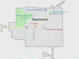 Map of Raymond, IL