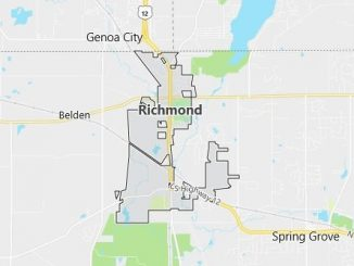 Map of Richmond, IL