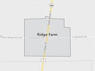 Map of Ridge Farm, IL