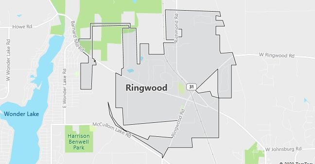 Map of Ringwood, IL
