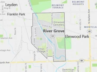 Map of River Grove, IL