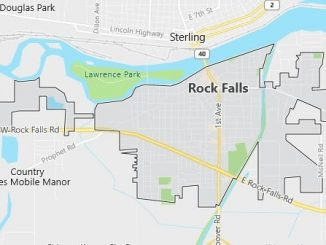 Map of Rock Falls, IL