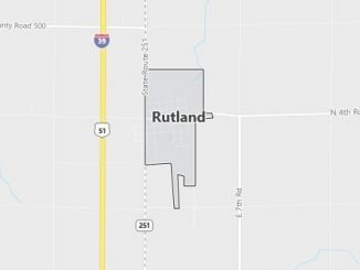 Map of Rutland, IL