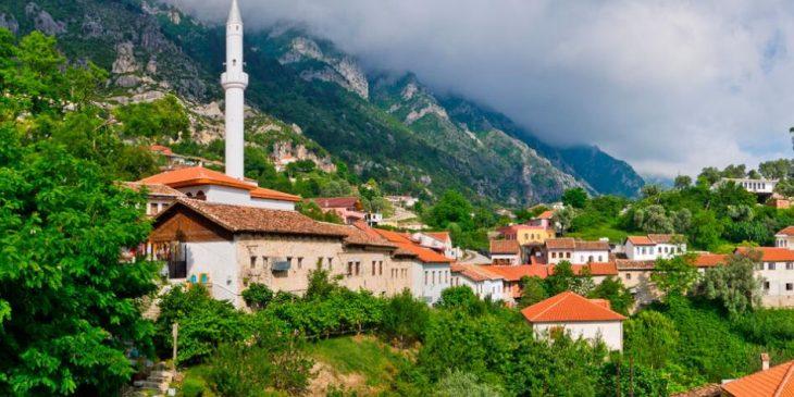 Around Albania