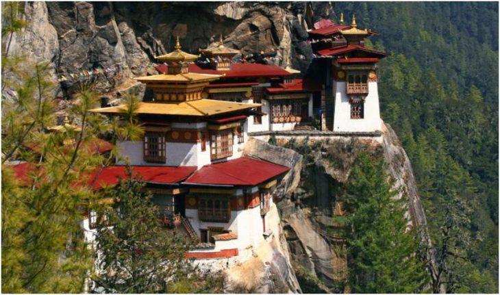 Before the trip to Bhutan