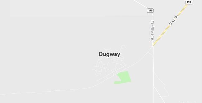 Map of Dugway, UT