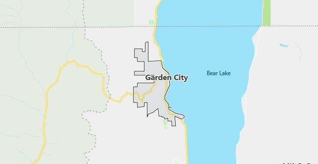 Map of Garden City, UT