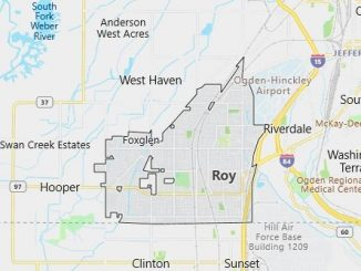 Map of Roy, UT