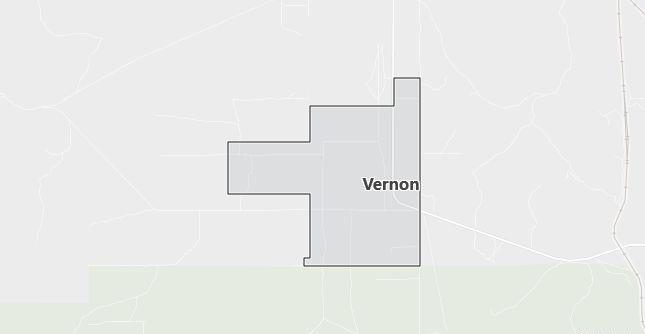 Map of Vernon, UT