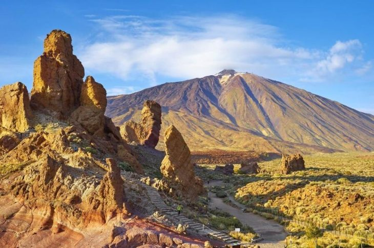 Pico del Teide - the largest mountain in Spain